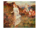 The Festival of Pan Giclee Print by Pierre-Auguste Renoir