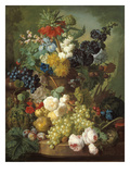 Still Life with Fruit and Flowers Posters by Jan van Os