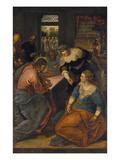 Christ in the House of Martha and Mary, about 1580 Prints by Jacopo Robusti Tintoretto