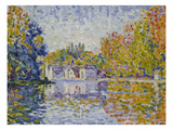 Study at the Seine, 1902() Posters by Paul Signac