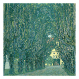 Avenue in the Park of Schloss Kammer, 1912 Giclee Print by Gustav Klimt