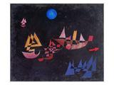 Abfahrt Der Schiffe, 1927 Kunstdrucke von Paul Klee