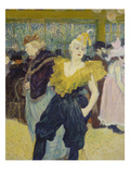 La Clownesse, 1895 Prints by Henri de Toulouse-Lautrec