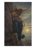 Loreley, 1864 Giclee Print by Edward Jakob Von Steinle