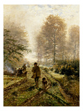 Herbstjagd Giclee Print by Hugo Muhlig