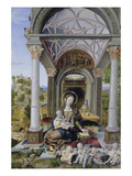 Madonna in the Hall, 1512 Giclee Print by Jorg Breu
