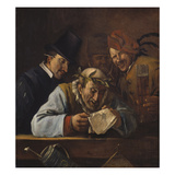 Poet Laureate. Probably Mid 1660S Giclee Print by Jan Steen