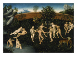 The Golden Age, about 1530 Giclee Print by Lucas Cranach the Elder