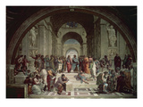 School of Athens, 1509/1510 Giclee Print by Raphael 