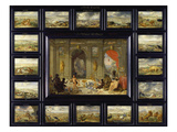 From the Cycle of the Four Continents: Africa Giclee Print by Jan van Kessel