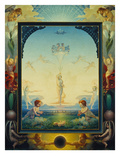 The Morning (First Version), 1808 Poster by Philipp Otto Runge