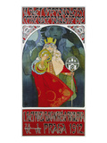 Poster for the 6th Meeting of the Czech Sokol-Union, Prague 1912 Prints by Alphonse Mucha