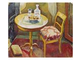 Wohnzimmerecke in Tegernsee, 1910 Giclee Print by Auguste Macke