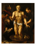 The Dying Seneca, about 1611 Giclee Print by Peter Paul Rubens