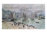Port De Mer (Le Havre), 1874 Posters by Claude Monet
