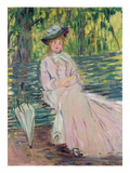 In the Park, 1878 Giclee Print by Claude Monet