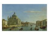 Blick Auf Sta.Maria Della Salute in Venedig, 1706 Kunstdruck von Gaspar van Wittel