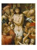 Die Verspottung Christi, 1544 Print by Jan Sanders van Hemessen