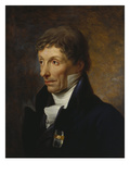 Portrait of the Gallery Director Johann Chr. V. Mannlich Giclee Print by Johann Baptist Seele