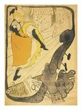 Henri de Toulouse-Lautrec - Lithograph Jane Avril, 1893 - Giclee Baskı