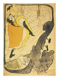 Lithograph Jane Avril, 1893 Prints by Henri de Toulouse-Lautrec