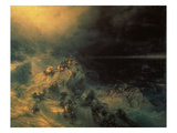 The Flood Giclee Print by Konstantinovich Ivan Aiwassowskij
