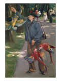 The Parrot Man, 1901/1902 Reproduction procédé giclée par Max Liebermann