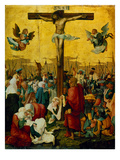Crucifixion of Christ, 1520 Poster by Albrecht Altdorfer