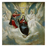 The Coronation of the Virgin, 1592 Prints by  El Greco