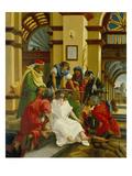 Passions/Sebastians-Altar in St.Florian Dornenkroenung Christi Poster by Albrecht Altdorfer