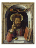 St. Mark the Evangelist, about 1450 Prints by Andrea Mantegna
