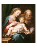 The Holy Family Giclée-Druck von Francesco Vanni