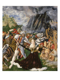 Beheading of Saint Catherine, about 1508 Lámina giclée por Lucas Cranach the Elder