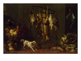 In the Pantry Poster by Frans Snyders