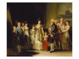 Die Familie Karls Iv. Von Spanien, 1800/1801 Prints by Francisco de Goya