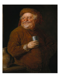 Falstaff with a Tin Cup Giclee Print by Eduard Grutzner