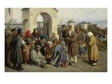 Singende Bettler, 1875 Giclee Print by Viktor Michailow Wasnezow