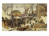 The Adoration of the Magi in the Snow, 1567 Giclee Print by Pieter Bruegel the Elder