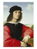 Bildnis des Agnolo Doni, um 1506 Posters par  Raphael