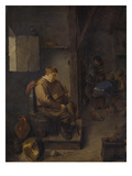 The Sleeping Landlord Giclee Print by Adriaen Brouwer