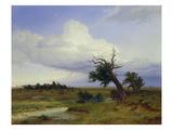 Landschaft Mit Absterbender Eiche, 1832 Giclee Print by Eduard Schleich