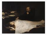 Der Anatom, 1869 Giclée-Druck von Gabriel Von Max