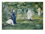The Croquet Party, 1873 Posters by Edouard Manet