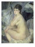 Weiblicher Akt (Anna), 1876 Giclee Print by Pierre-Auguste Renoir
