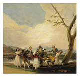 Blind Man's Buff, 1788 Giclee Print by Francisco de Goya