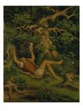 In the Woods (Des Knaben Wunderhorn), about 1848 Giclée-Druck von Moritz Von Schwind