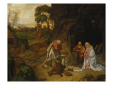 Adoration of the Shepherds Giclee Print by called Giorgione, Giorgio da Castelfranco