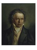 Ludwig Van Beethoven, 1816/1818 Giclee Print by Joseph Karl Stieler