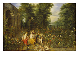 Allegorie Des Fruehlings (Flora Im Blumengarten) Prints by Jan Brueghel the Younger
