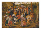 Peasant Kermis Giclee Print by Pieter Brueghel the Younger